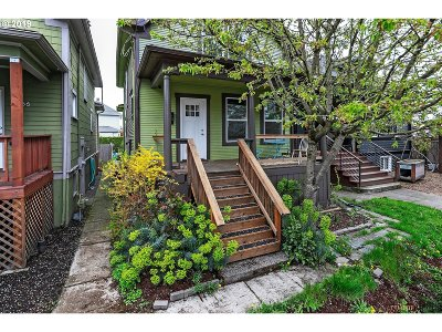 Clackamas County, Multnomah County, Washington County Single Family Home For Sale: 4052 N Williams Ave