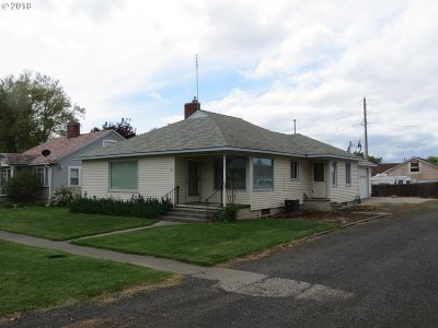 Umatilla County Single Family Home For Sale: 234 S 3rd St