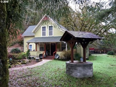 Mapleton Single Family Home For Sale: 12140 Hwy 126