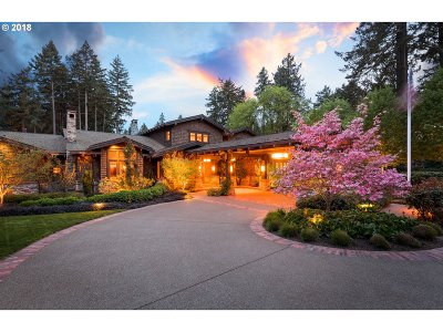 Clackamas County Single Family Home For Sale: 13150 SW Iron Mountain Blvd