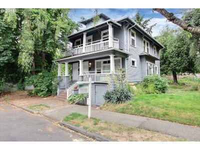 Clackamas County, Multnomah County, Washington County Multi Family Home For Sale: 1115 N Beech St