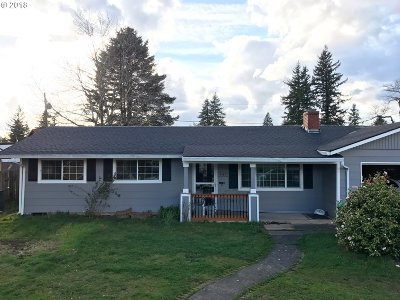 Single Family Home For Sale: 4125 SE 134th Ave
