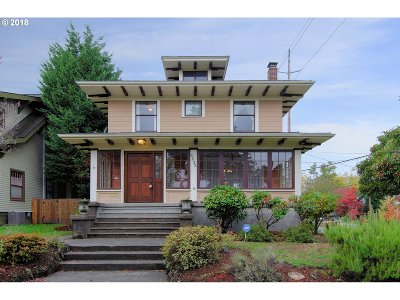 Single Family Home For Sale: 4233 NE 30th Ave