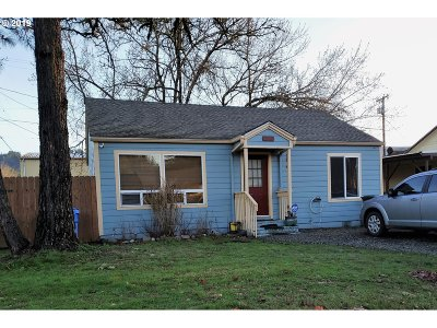 Sutherlin Single Family Home For Sale: 292 E First Ave