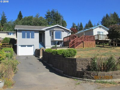 Coos Bay Single Family Home For Sale: 576 12th Ave