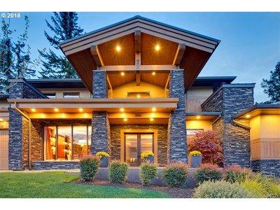 Lake Oswego OR Single Family Home For Sale: $1,600,000