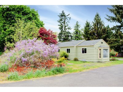 Single Family Home For Sale: 6785 SW Vermont St
