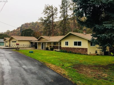 Roseburg Single Family Home For Sale: 390 River Bend Rd