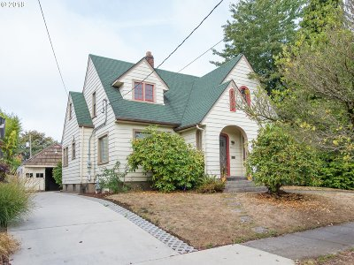 Portland Single Family Home For Sale: 4841 NE Rodney Ave