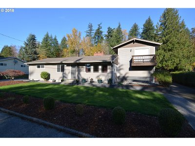 Cowlitz County Single Family Home For Sale: 2316 Cascade Way