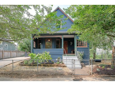 Portland Single Family Home For Sale: 4057 NE 12th Ave