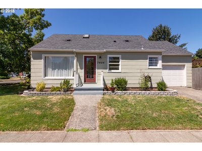 Portland Single Family Home For Sale: 7405 N Wall Ave