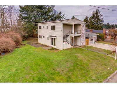 Multnomah County Multi Family Home For Sale: 1613 NE 81st Ave