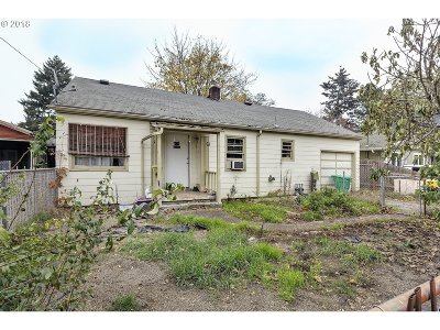 Single Family Home For Sale: 6556 SE 64th Ave