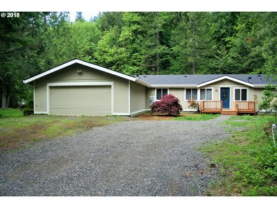 Rhododendron Single Family Home For Sale: 70377 E Barlow Trail Rd