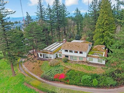 , Portland, West Linn, Lake Oswego Single Family Home For Sale: 429 NW Skyline Blvd