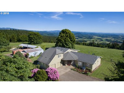 Scio Single Family Home Sold: 42433 Rodgers Mountain Loop