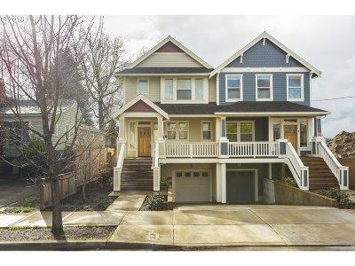 Portland Single Family Home For Sale: 3807 SE 31st Ave