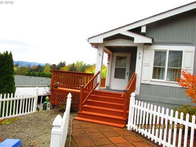 Kalama Single Family Home For Sale: 5400 Meeker Dr