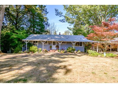 Aurora Single Family Home Sold: 24613 NE Butteville Rd