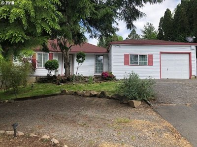 Milwaukie Single Family Home For Sale: 6593 SE Thiessen Rd