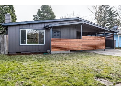 Eugene Single Family Home For Sale: 475 N Garden Way