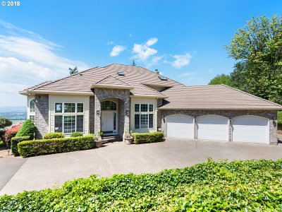 Newberg, Dundee, Mcminnville, Lafayette Single Family Home For Sale: 22000 NE Mountain Top Rd