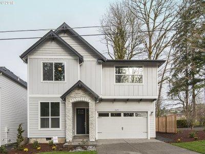 Washington County Single Family Home For Sale: 8693 NW Lovejoy St