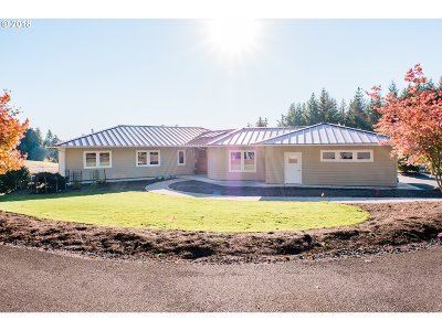North Plains Single Family Home For Sale: 18077 NW Pumpkin Ridge Rd