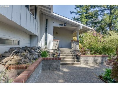 Single Family Home For Sale: 6435 SW Scholls Ferry Rd