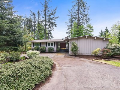 Portland Single Family Home For Sale: 12120 NW Old Quarry Rd