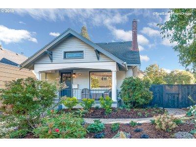 Single Family Home For Sale: 1326 NE Fremont St