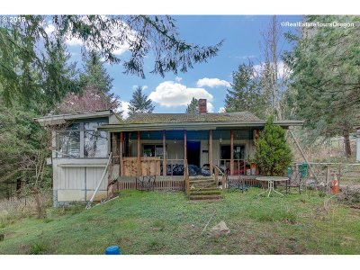 Single Family Home For Sale: 40011 SW Lasalle Rd