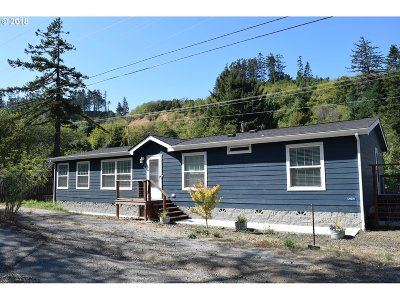 Gold Beach OR Single Family Home For Sale: $450,000