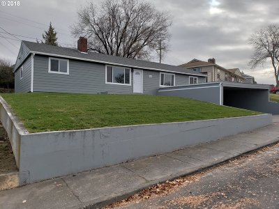 Pendleton Single Family Home For Sale: 1800 SW Goodwin Pl