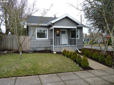 Portland Single Family Home For Sale: 7135 N Commercial Ave