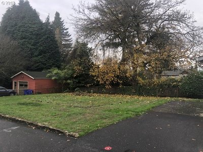 Portland Residential Lots & Land For Sale: SE Tacoma St