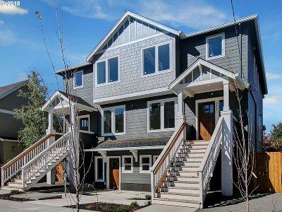 Portland Condo/Townhouse For Sale: 2019 SE Harold St