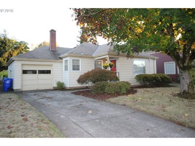 Single Family Home For Sale: 9330 SE Taylor St