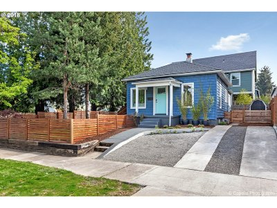 Portland Single Family Home For Sale: 9216 N Portsmouth Ave