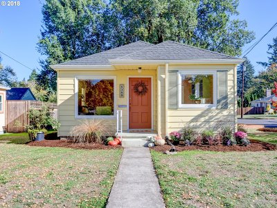 Single Family Home For Sale: 6308 NE 18th Ave