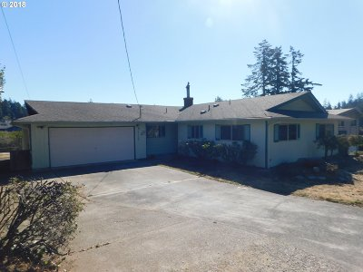 North Bend Single Family Home For Sale: 2709 D St