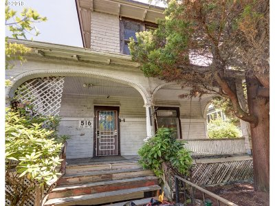 Portland Single Family Home For Sale: 516 SE 28th Ave