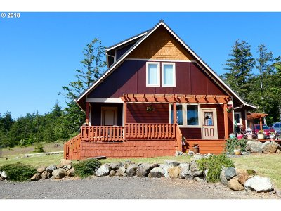 Gold Beach Single Family Home For Sale: 32100 Black Tail Spur