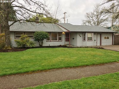 Eugene Single Family Home For Sale: 1140 W 18th Ave