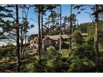 Cannon Beach Single Family Home For Sale: 80704 Hwy 101