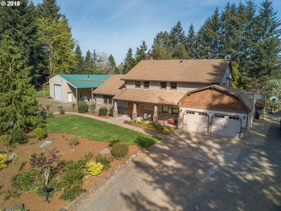 Clackamas County Single Family Home For Sale: 21946 SE Cottontail Dr