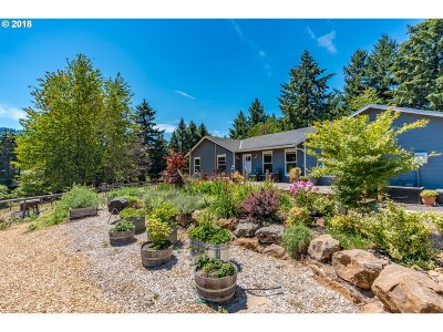Sherwood Single Family Home For Sale: 26401 SW Chehalem Station Rd