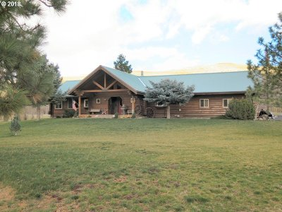 Umatilla County Single Family Home For Sale: 74091 Thornhollow Rd
