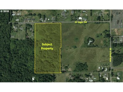 Happy Valley, Clackamas Residential Lots & Land For Sale: SE Sager Rd
